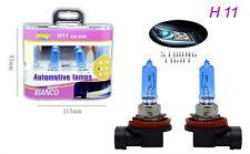 COPPIA FARI LAMPADINE XENON AUTO ATTACCO H11 BIANCO 5500K ALTA LUMINOSITA 55W