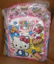 NEW Hello Kitty Backpack School Pink Blue NEW NWT