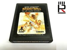 BASKETBALL for ATARI 2600 / 7800 PAL genuine & tested! Great Used Condition.