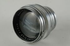 Carl Zeiss Opton 50mm f/1.5 T* coated Sonnar LENS for Contax Rangefinder Camera