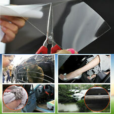 10cmx30cm Car Bumper Hood Paint Protection Film PVC Vinyl Clear Thickness 0.2mm
