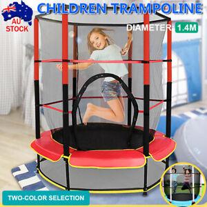 Kids Trampoline Indoor Outdoor Junior  Safety Net Jumping 4.5ft NO Screws Needed