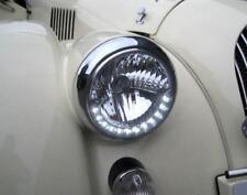"Pair of ARV6 style 7"" LED Head lights lamps Morgan plus 4 8 4/4 super sport LHD"
