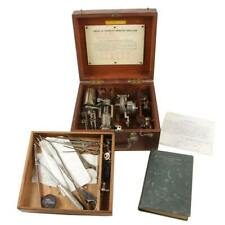 AMERICAN *(THOMPSON) STEAM GAUGE INDICATOR in BOX, COMPLETE with BOOK