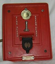 VTG FIRE ALARM Autocall Shelby OH Station 136 Wall Box Poll Mount Break Glass