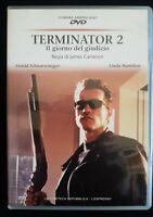 DVD Terminator 2 il giorno del giudizio James Cameron Schwarzenegger - NUOVO