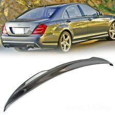 Mercedes Benz W221 S-CLASS V Look Rear Carbon Fiber Trunk Spoiler Bluetec 4Matic