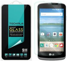 TechFilm® Tempered Glass Screen Protector Saver Shield For LG Optimus Zone 3