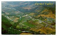 1960s/70s Aerial View of Carmel Valley, CA Postcard *5N27