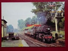 POSTCARD LMS IVATT 2-6-0 LOCO NO 43022 AT CANONBURY 1965