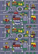 Streets and Road Map Rugs