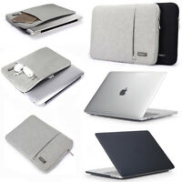 Laptop Shell Cover Sleeve Bag Case Carry For 2017 2018 Macbook Pro 11 13 15 inch