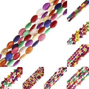Colorful Turquoise Spacer Loose Beads Jewelry Making Necklace Bracelet DIY