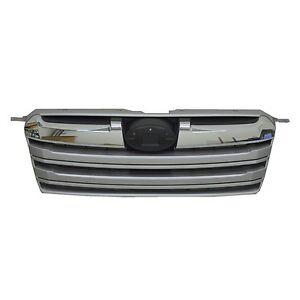fits 2013-2014 SUBARU OUTBACK Grille Chrome Upper Front Bumper NEW