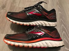 Brooks Glycerin 13 Men's Size 8.5 Athletic Running Shoes Black/Red 3D Print (D)
