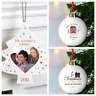 1st CHRISTMAS IN YOUR NEW HOME GIFT IDEA | PERSONALISED TREE BAUBLE First Xmas