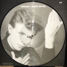 DAVID BOWIE, HEROES - 180 GRAM PICTURE DISC VINYL LIMITED ED. LP IMPORT