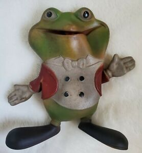 """Vintage 1948 Rempel Froggy the Gremlin 5"""" Squeaker Rubber Toy J. Ed McConnell"""