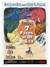 7 FACES OF DR LAO LOBBY CARD POSTER OS/BEL 1964 TONY RANDALL BARBARA EDEN