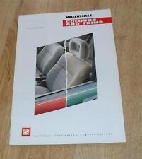 Vauxhall Range Colour & Trim Brochure 1990