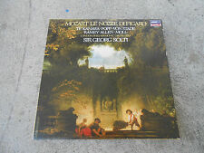 MOZART-LE NOZZE DI FIGARO-SOLTI-TE KANAWA-4 LP BOX-BOOK-LONDON 74001-HOLLAND-NM