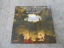 MOZART-LE NOZZE DI FIGARO-SOLTI-TE KANAWA-4 LP BOX-BOOK-LONDON 74001-HOLLAND-NM