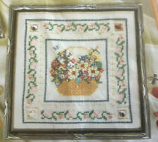Mill Hill Basket of Flowers Beaded Cross Stitch PATTERN only