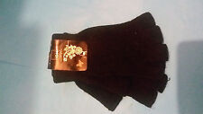 Beautiful Young Girls / Boys.black Fingerles mittens one size brand new.1P START