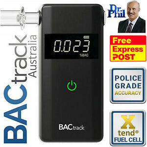Breathalyser. Alcohol Breath Tester - BACtrack Scout 2021 / XTEND® FUEL CELL