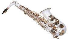 Sassofono Sax Alto Karl Glaser Bianco con Custodia e Accessori NUOVO