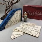 Kay ZITHER Vintage Wooden Musical Toy in original box w Song Sheets ~England