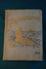 Prarieblomman Kalendar 1904 Swedish Americana Rock Island Illinois