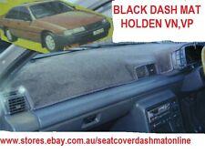 DASH MAT, BLACK DASHMAT,DASHBOARD COVER FIT HOLDEN VN, VP 1989 - 1992, BLACK