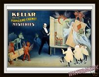 Wall Art Print   Kellar the Magician  Year 1894    11x14