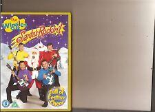 WIGGLES SANTA'S ROCKIN DVD KIDS
