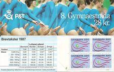 Denmark. SC # 840 Gymnaestrada . Booklet