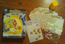 Pokemon On A Roll (Dice Game) diamond & pearl kids board 100% COMPLETE!