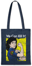 Ripley We Can Kill It Stofftasche Einkaufstasche Prometheus Face Hugger Fun