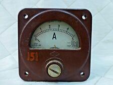 Russian Soviet Amp Ampere Gauge Meter USSR Vintage Military Amperemeter