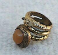Very Stunning Rare Ancient Viking Bronze Twisted Ring Artifact Authentic Amazing
