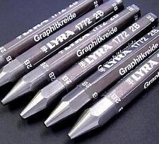Lyra Graphite Crayon - Individual Stick - 6B, New, Free Shipping