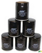 6 units OSK Oil Filter suit Z411 for Triton Mazda Ford Subaru Honda EFI