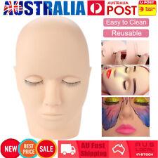 Mannequin Flat Training HEAD Model Make up Eye Lashes Practice Eyelash Extension