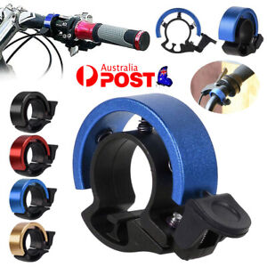 Bicycle Bell Aluminum Alloy Bike Bell MTB Handlebar Alarm Ring Invisible Bell