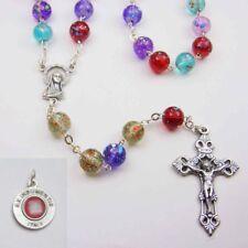 ColorBurst Rosary - Bonus St. Anthony Relic Medal