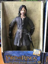 """Lord Of The Rings Aragorn 12"""" Figure 2003 ToyBiz"""