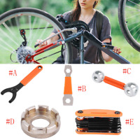 Outdoor Bicycle Multifunctional Wrench Spanner Bike Cycling Remover Repair Tool