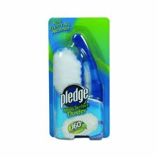 Pledge Multi Surface Duster 360 Fluffy All Around Starter Kit 1 Handle-2 Dusters