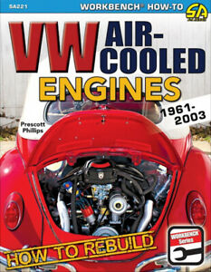 How to Rebuild VW Air-Cooled Engines: 1961-2003 - Book SA221