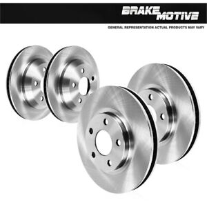 For 2003 2004 2005 2006 - 2011 Crown Victoria Front And Rear Brake Rotors